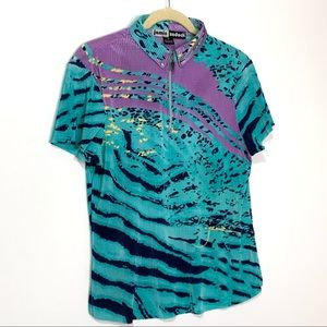 Jamie Sadock Crunch Crinkle Golf Polo M